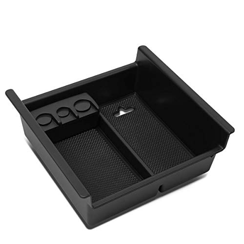 For 10-18 4Runner Center Console Storage Box Armrest Organizer Tray