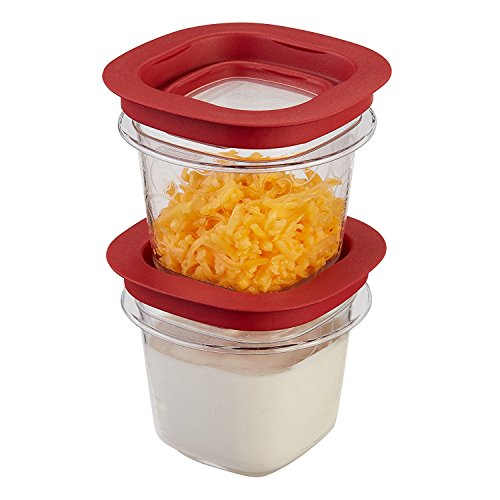 kitchen storage containers buy online rubbermaid premier food storage container 2 pack 1 2 cup 8617