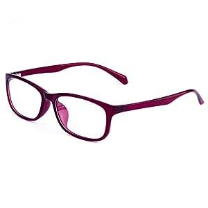 Classic Star Style Square Ultralight Eyeglasses Frame Unisex Fashionable Computer Presbyopic Eyewear,C4,50Centimeters