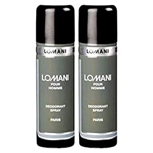 Best Top Deo – Lomani Men's Pour Deo, 200ml – Combo of 2