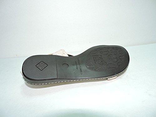 Donald J Pliner Donna Geva Sughero Strappy Sandalo A Fungo Scivoli Appartamenti Misura 7 M