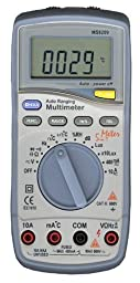 Mastech MS8209 5 in 1 Multimeter with High accuracy and resolution on all ranges, Enviormental Tester + Multi Function DMM