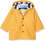 Hatley Baby Boys Printed Raincoats, Yellow, 12-18 Months
