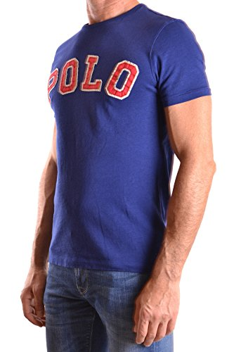 Ralph Lauren Herren MCBI251198O Blau Baumwolle T-Shirt
