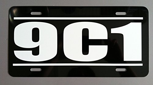 Motown Automotive Design 9C1 Caprice Impala Police LICENSE PLATE