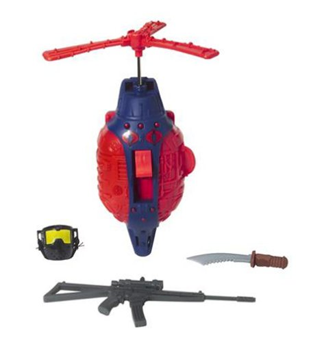 Amazon Com G I Joe Helicopter Recon Mission 12 Inch Accessories Set