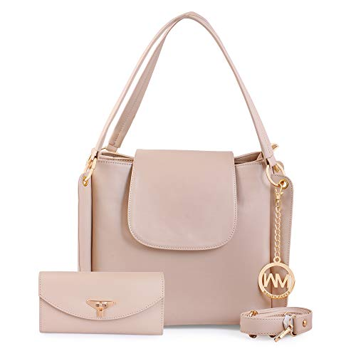 Women Marks Women's Hand Held Bag & Sling Bag (Nsb1066, Cream)