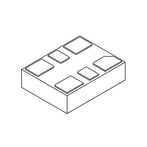 Standard Clock Oscillators MEMS Oscillator, Low Jitter, 50MHz, LVCMOS, -40C-105C, 50ppm, 3.2x2.5mm , Pack of 25 (DSC1121CL1-050.0000)