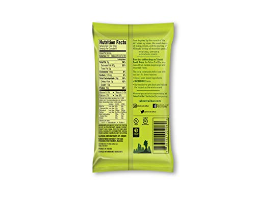 Tahoe Trail Bar – Energy Bar – Caramel Chocolate Chunk 1.94 Ounce Protein Bar, 12 Count Plant-Based, Non-GMO, Gluten Free, Vegan