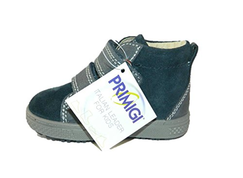 Primigi - Zapatillas de Piel para niño azul turquesa