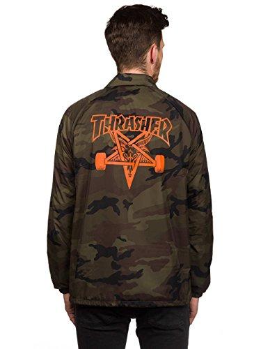 Thrasher Thrasher Thrasher Uomo Giacca Verde Uomo Giacca Verde Verde Thrasher Uomo Giacca 5qFxY8n