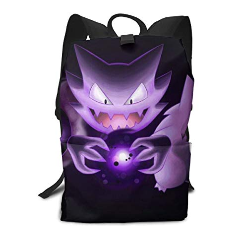 Ghost Pok-emon Outdoor Leisure Sports School Travel Backpack Casual -