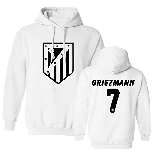6cbc42375 Tcamp Atletico Madid Shirt Antoine Griezmann  7 Jersey Men s Hooded  Sweatshirt