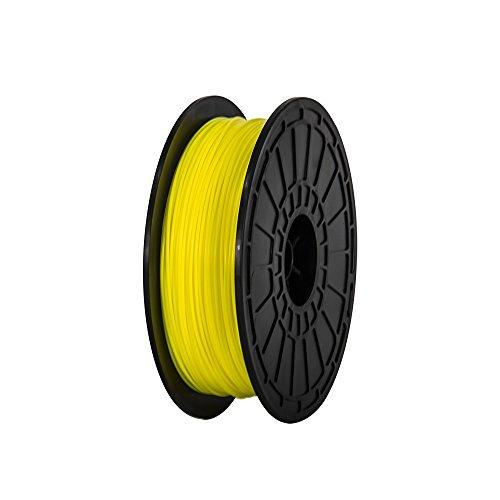175mm-ABS-Yellow-3d-Printer-Filament-NW06-kg-Per-Spool-for-FlashForge-Dreamer-3d-Printer