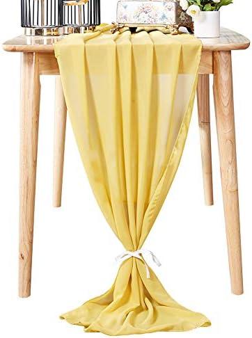 Aviviho Chiffon Wedding Decorations 120inch product image