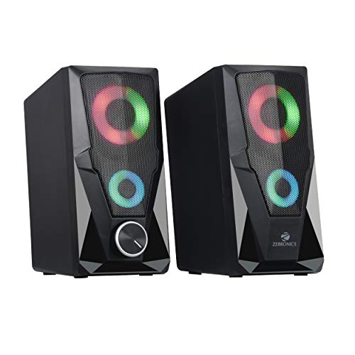 Zebronics Zeb-Warrior 2.0 Multimedia Speaker with Aux Connectivity,USB Powered and Volume Control