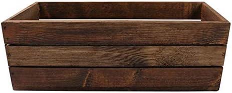 TINTOURS Bo/îte en Bois pour Herbes et Fleurs Marron 40 x 18 x 15 cm