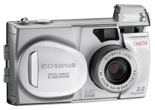 amazon com olympus camedia d 550 3mp digital camera w 2 8x optical rh amazon com Kodak 3X Optical Zoom Manual olympus d 560 zoom manual
