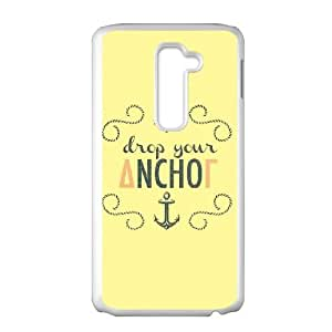Delta Gamma Drop Your Anchor LG G2 Cell Phone Case White Delicate gift JIS_318181