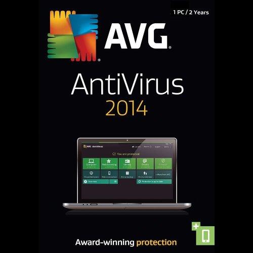 AVG Antivirus 2014, 1-User / PC, 2 -Year