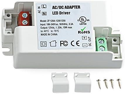 Neuftech/® 12V 2,5A 30W AC//DC LED Driver LED Transformateur Convertisseur