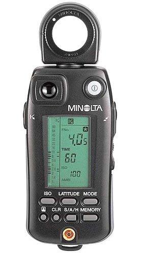 amazon com flash meter vi photographic light meters camera photo rh amazon com Light Meter Minolta IV Minolta Light Meter V