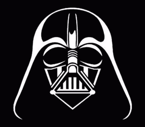 Darth Vader Sticker - Darth Vader window sticker vinyl decal car truck jdm fun White, Die cut vinyl decal for windows, cars, trucks, tool boxes, laptops, MacBook - virtually any hard, smooth surface