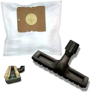 20 Bolsas de tela + aspiradora crin parqué para Dirt Devil M 1565 – Lifty: Amazon.es: Hogar