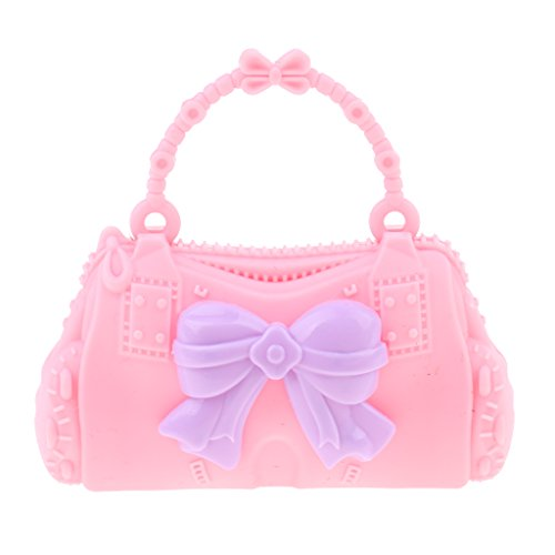 30cm Doll Plustic Barbie Pink Dolls for Bag Pretty Shoulder Girl Bag Kid Baoblaze Butterfly 28 Handbag Accessories 4pqx5E0Rwn
