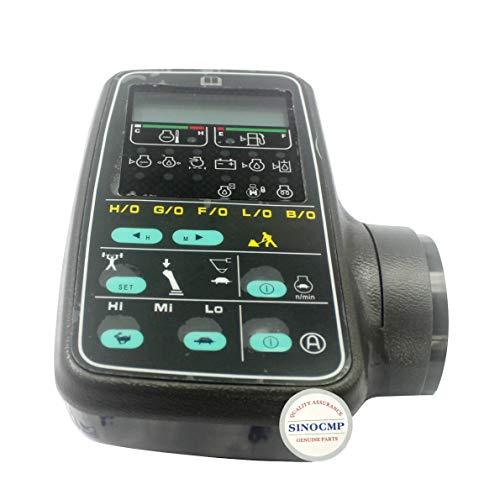 SINOCMP 7834-71-6101 Monitor Ass'y Excavator Big Head LCD Monitor Display for Komatsu 6D102 PC200-6 PC220LC-6 Excavator Parts, 1 Year Warranty