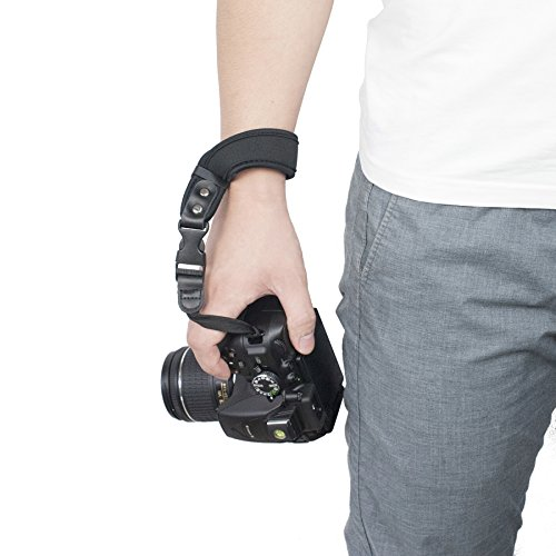 Camera Hand Strap, Sugelary Safety Wrist Strap Belt for Canon Nikon Sony DSLR SLR Mirrorless Camera (Camera hand strap) ()