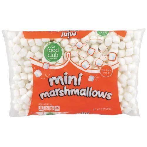 Food Club, Mini Marshmallows (Pack of 24)