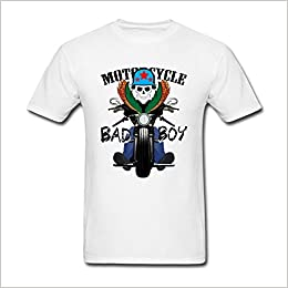 Amazon Com Nicesne Motorcycle Club Race Bad Boy Poster T Shirt For
