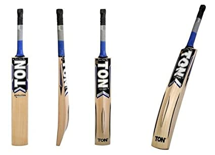 bfb0115d2f5 ss TON Revolution Cricket bat Kashmir Willow Short Handle by Sunridges with  Free Sunridges Bat Cover
