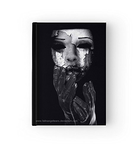 [Gothic Hard Cover Journal, My Mask Book, Diary, You Choose Paper Style (Ruled (lined) Paper)] (Demonic Masks)