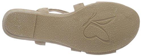 Caprice 28206 - Sandalias Mujer Beige - Beige (SAND SUEDE 360)