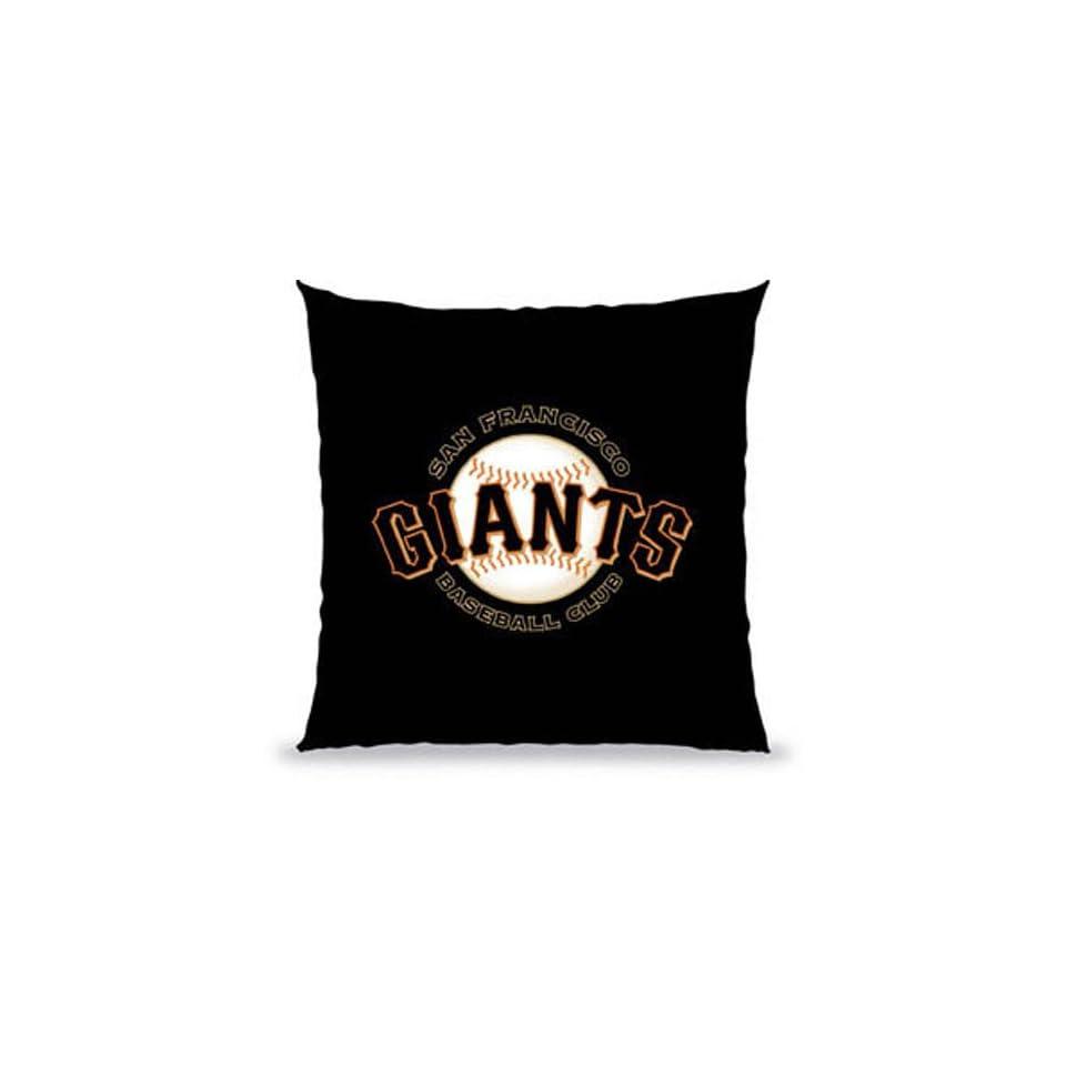 San Francisco Giants MLB 12 x 12 in Souvenir Pillow