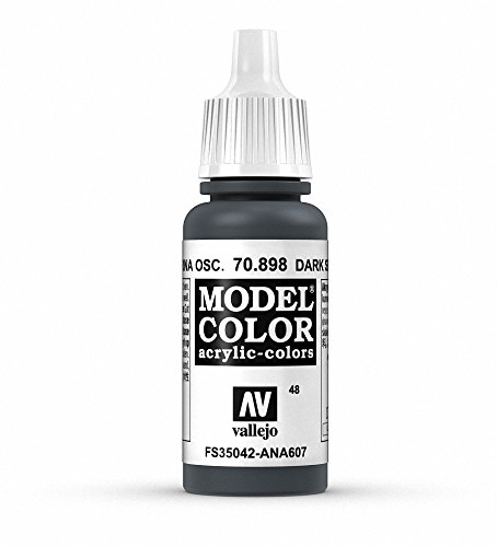 Vallejo Dark Sea Blue Model Color Paint, 17ml (Model Dark)