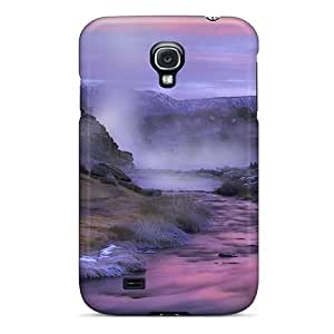 DEnnisEM Case Cover Protector Specially Made For Galaxy S4 Hot Creek At Sunset