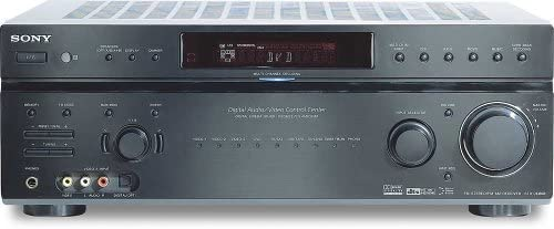 Sony STR-DE898 B 7.1-Channel A V Surround Sound Receiver Black Discontinued by Manufacturer