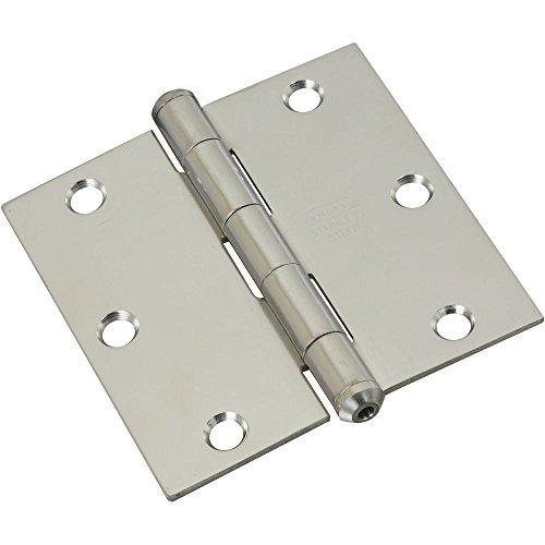 National Hardware N225-920 V514 Door Hinge in Stainless Steel (Steel Stainless Hinge Door Right)