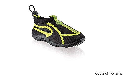 FASHY aqua-Schuh Guamo schwarz-grün 30