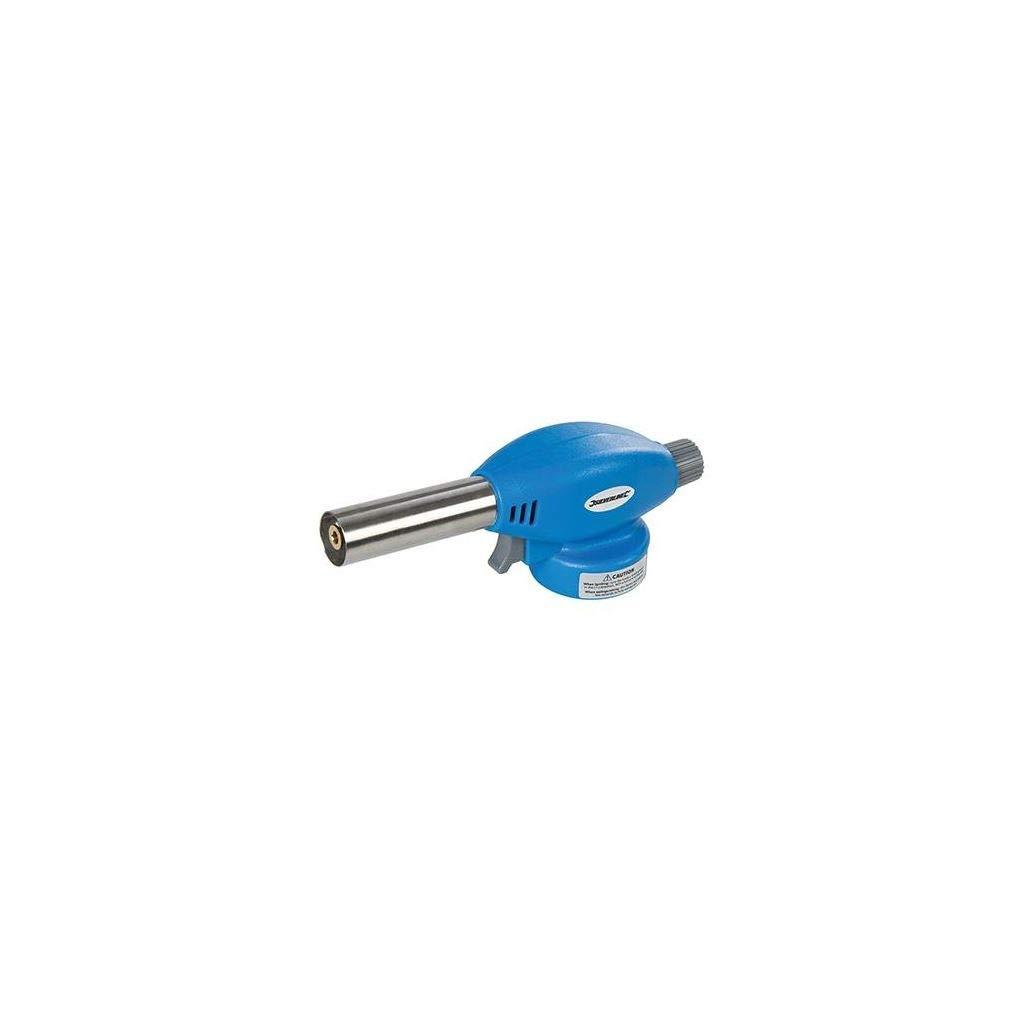 Silverline EN417/Soldering Torch Butane Blue