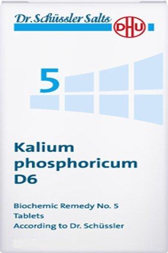 Dhu Dr. Schuessler Salts 5 Kalium Phosphoricum D6 Nervous System And Mind Salt 200 Tbs