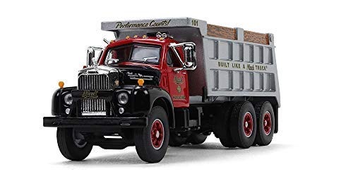 First Gear 1/64 Scale Mack Hauling Mack B-61 Dump Truck (60-0433)