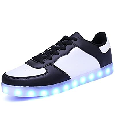Adults LED Shoes Light Up Sneaker USB Charging Fashion Gift.