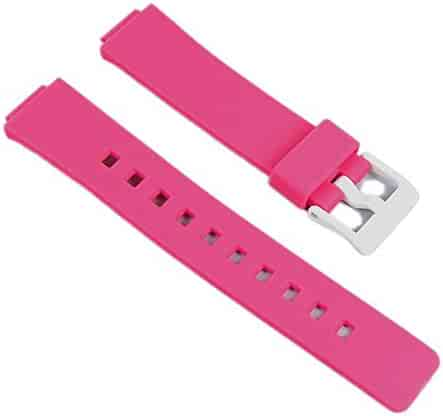 Casio watch strap watchband Resin Band Magenta LDF-52-4AEF LDF-52 LDF-50