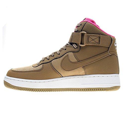Nike Air Force 1 High '07, Scarpe Sportive, Uomo golden tan pink power sail 204
