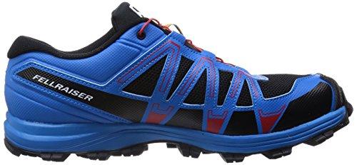 Salomon Herren Fellraiser Traillaufschuhe Mehrfarbig (Black/Methyl Blue/Quick)