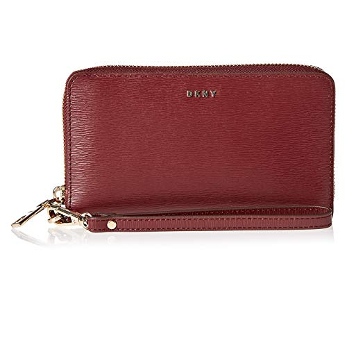 DKNY Bryant Genuine Leather Sutton Wristlet Purse: Amazon.es ...